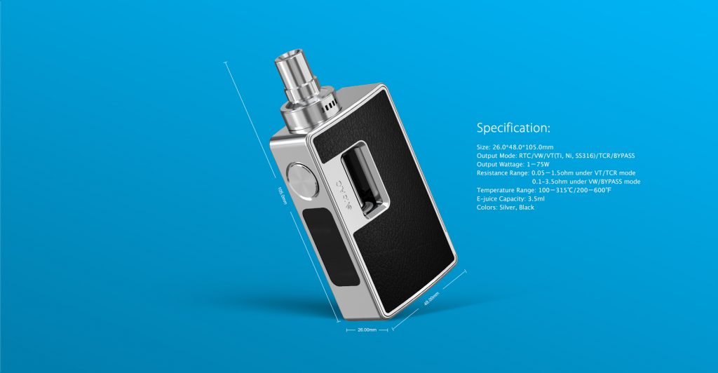 evic aio size and specs