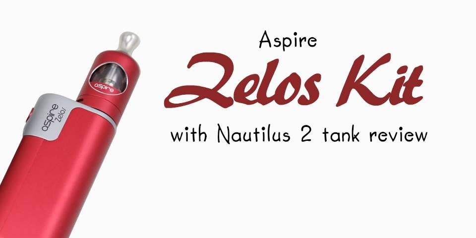 Aspire Zelos 50W Kit With Nautilus 2 Review