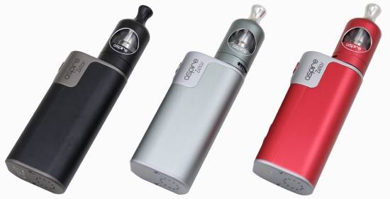 Aspire Zelos Kit in Different Colors