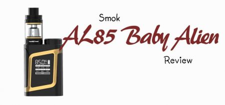 SMOK AL85 Baby Alien Kit Review