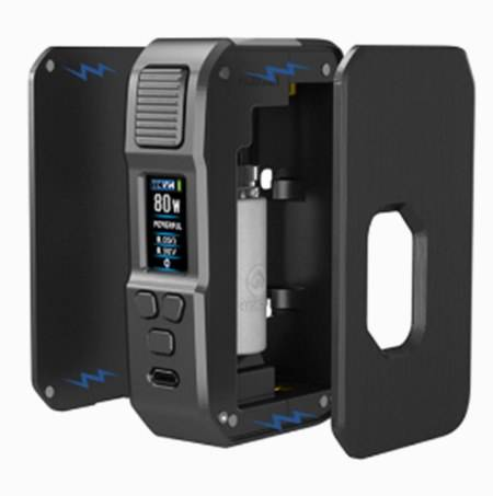 Design of the Towis Aurora Squonk with 2 removable panels