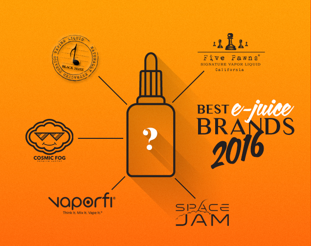 Best E-Juice, Vape Juices 2017 - Voted by 30,000 Vapers