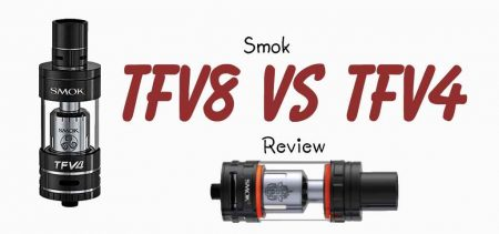 Smok TFV8 and TFV4 review