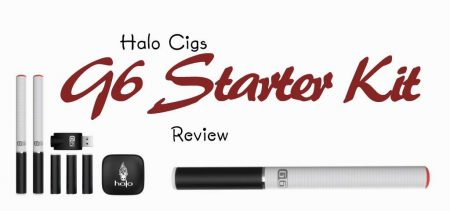 Halo Cigs G6 Starter Kit Review