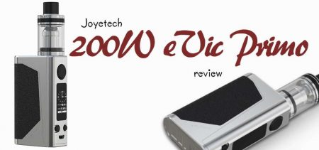 Joyetech eVic Primo with Unimax 25 Review