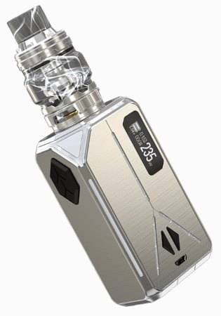 The Eleaf Lexicon Kit in silver